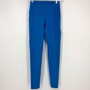 Buff Bunny Blue Glacier Leggings Side Pocket